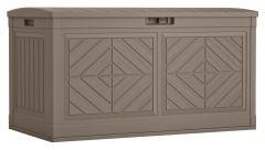 80 Gallon Baywood® Large Deck Box - Dark Taupe