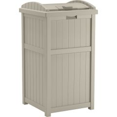Trash Hideaway® Refuse Container - Light Taupe