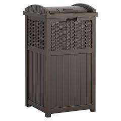 Wicker Trash Hideaway® - Java