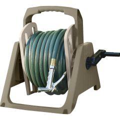 100 ft. Hose Handler®  Portable Wall Mount Hose Reel - Dark Taupe