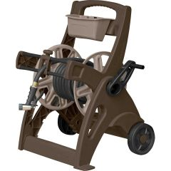 225 ft. Slide Trak®  Hosemobile®  Hose Reel Cart - Mocha