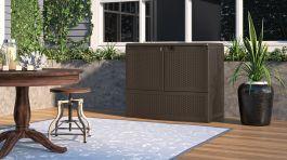 195 Gallon Backyard Oasis® Storage and Entertaining ...
