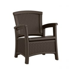 Suncast ELEMENTS Club Chair with Storage - Java