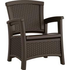 Suncast® Elements® Club Chair with Storage - Java