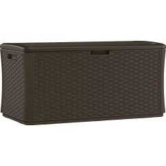 134 Gallon Extra Large Deck Box - Java