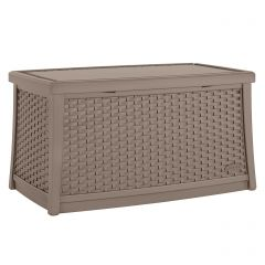 Suncast ELEMENTS Coffee Table with Storage - Dark Taupe
