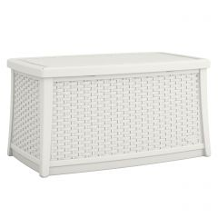 Suncast ELEMENTS Coffee Table with Storage - White