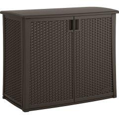 97 Gallon Outdoor Cabinet - Java