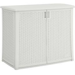 97 Gallon Outdoor Cabinet - White