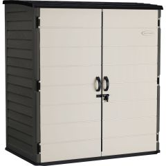 Extra Large Vertical Shed - Peppercorn