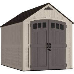 7 ft. X 10 ft. Carlisle™ Storage Shed - Vanilla