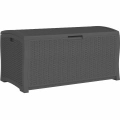 122 Gallon Extra Large Deck Box - Peppercorn