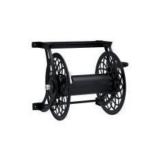125 ft. Decorative Metal Hose Reel- Black