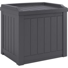 22 Gallon Small Deck Box with Storage Seat - Cyberspace