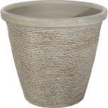 16 In. Chariton™ Decorative Planter - Light Taupe