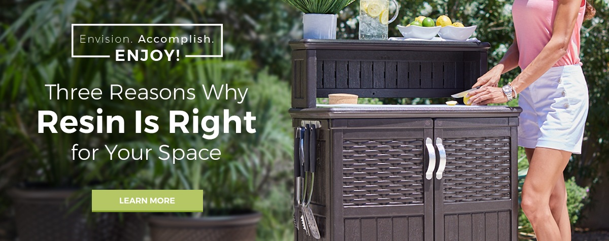 Save up to 20% on Deck Boxes, Outdoor Furniture, and Patio Accessories