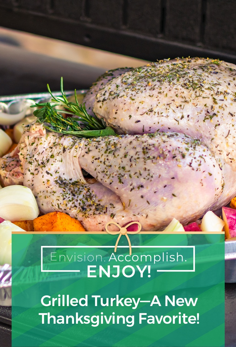 Grilled Turkey—A New Thanksgiving Favorite!
