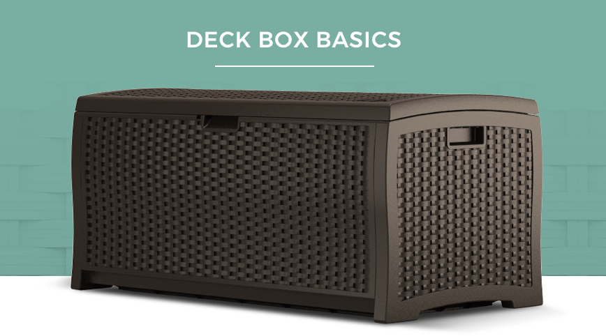 Suncast Deck Box Basics