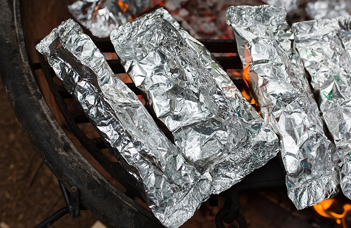 Foil-wrapped