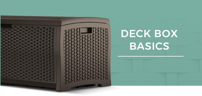 Suncast Deck Box Basics