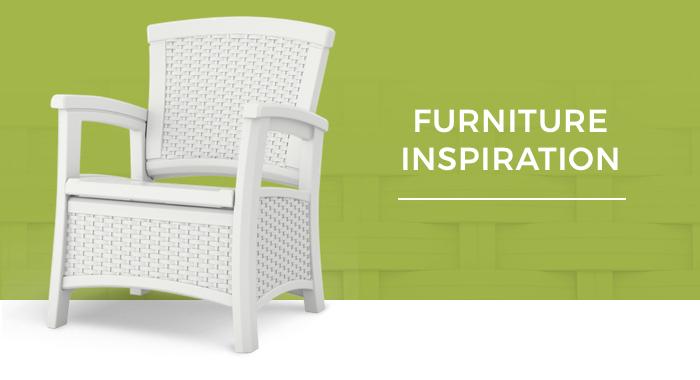 Suncast Furniture Inspiration