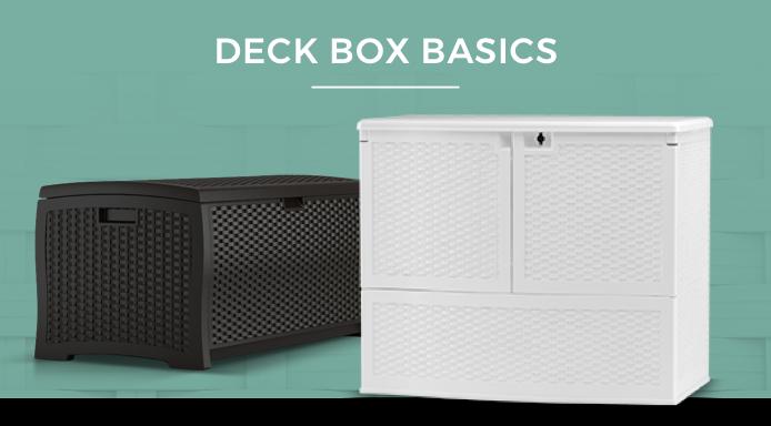 Suncast Deck Boxes
