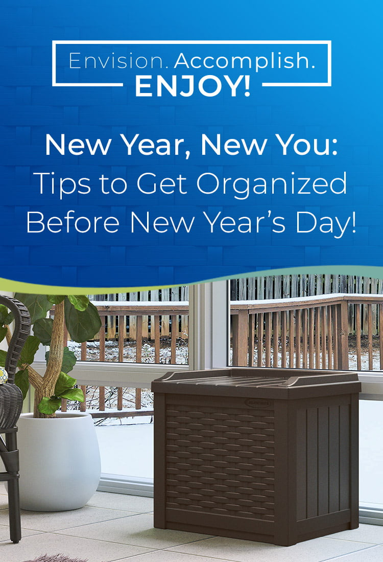 New Year, New You: Tips to Get Organized Before New Year's Day
