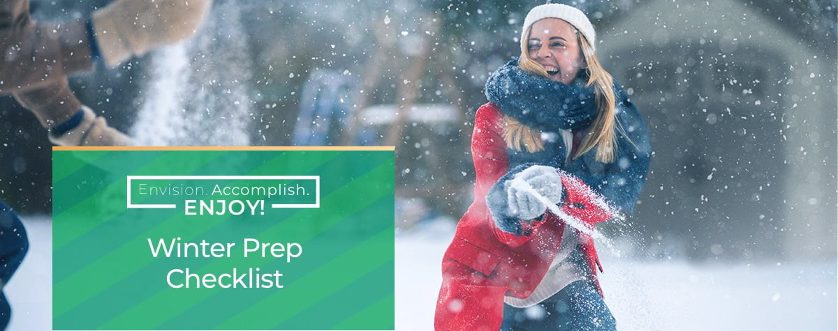 Winter Prep Checklist