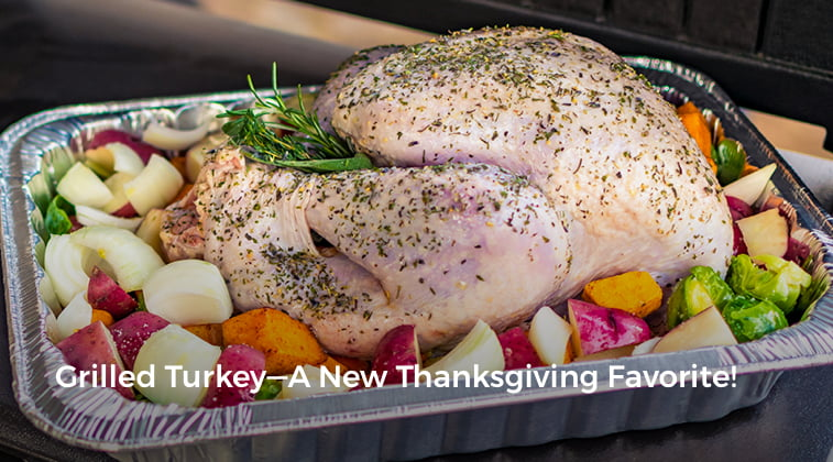 Grilled Turkey - A New Thanksgiving Favorite!