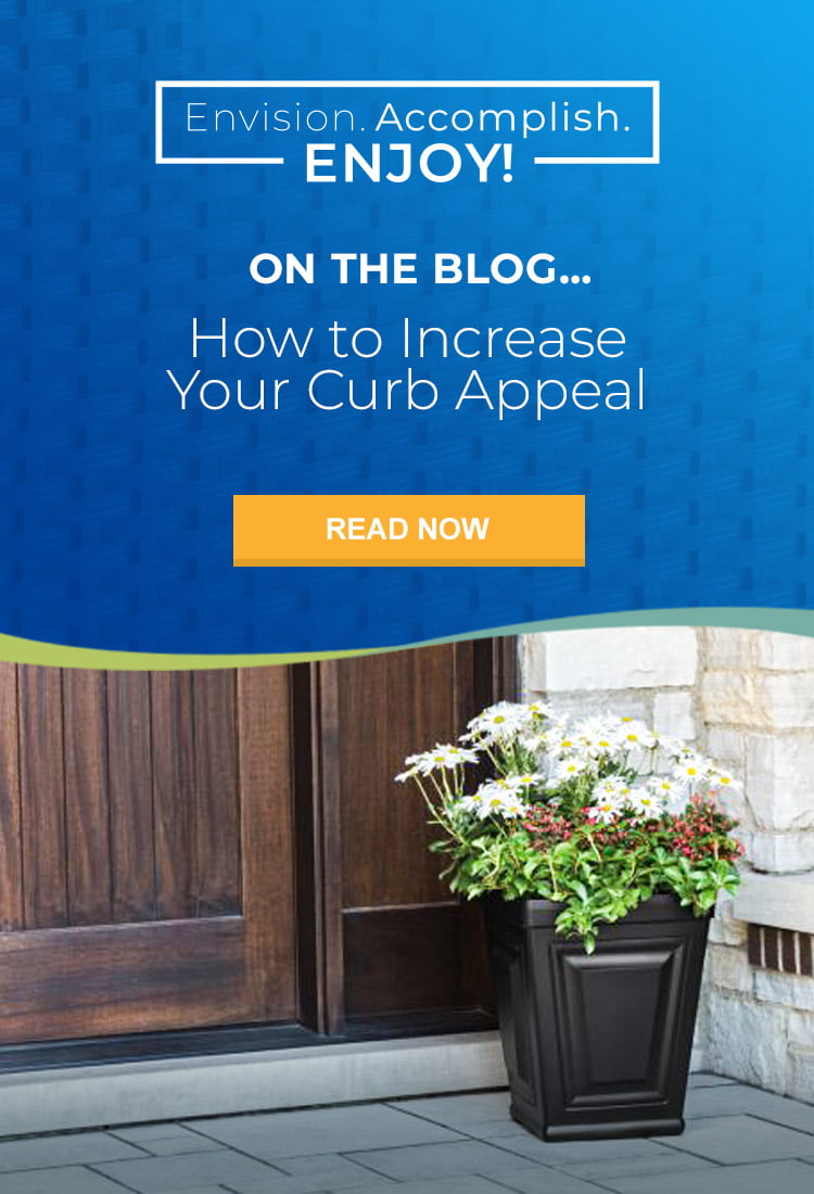 On the blog: how to increase your curb appeal.