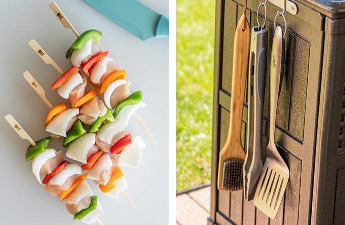 Kebabs and tools