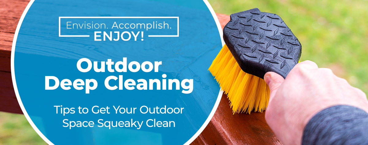 Outdoor Deep Cleaning