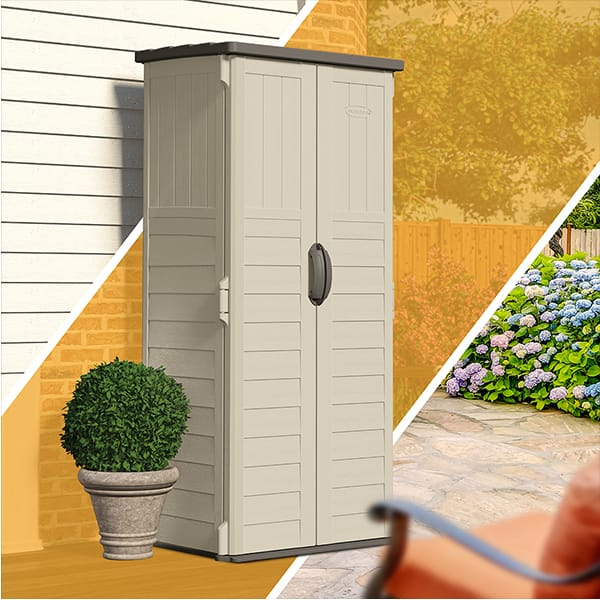 Vertical shed