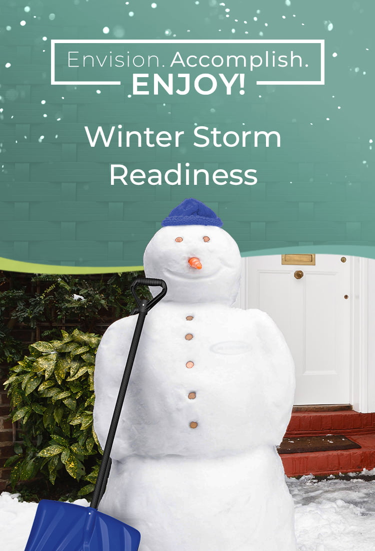 Winter Storm Readiness
