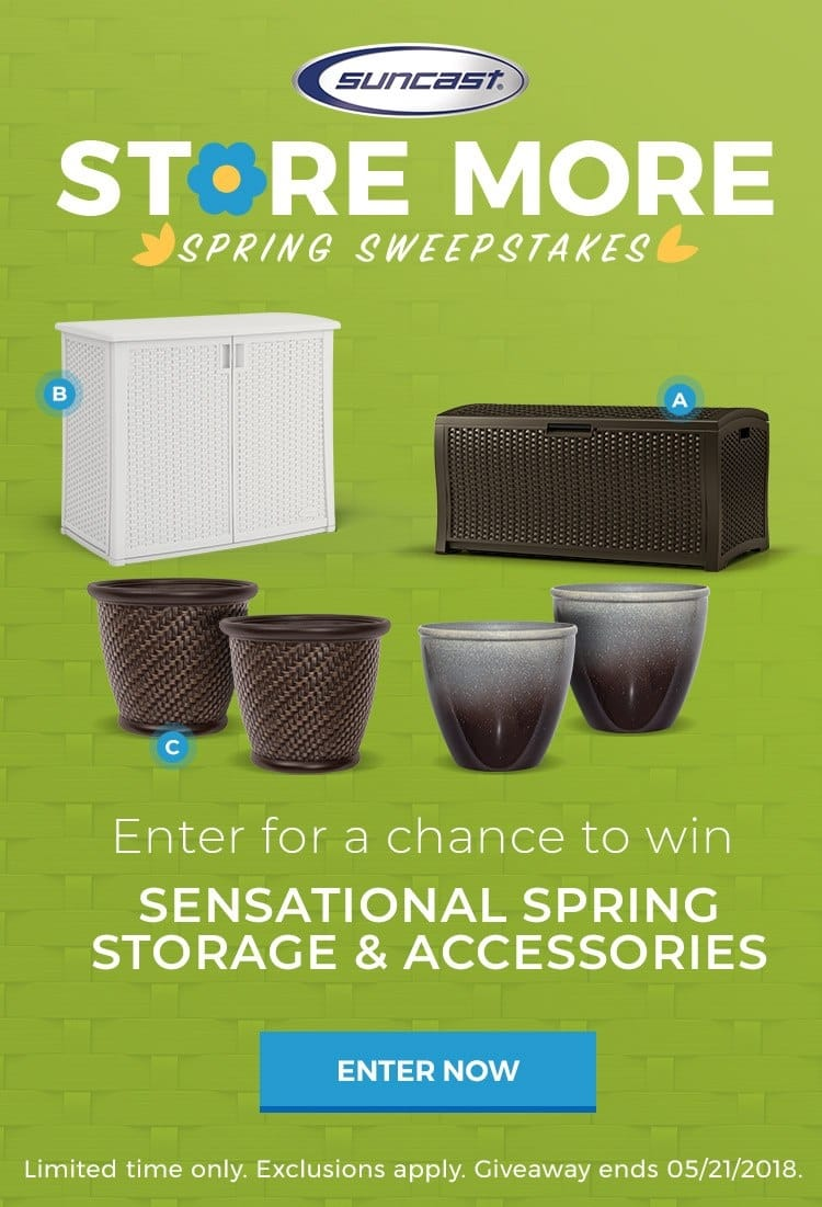 Store More Spring Sweepstakes