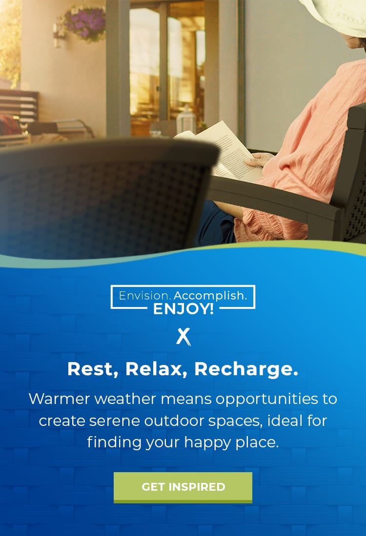 Rest, Relax, and Recharge This Summer.