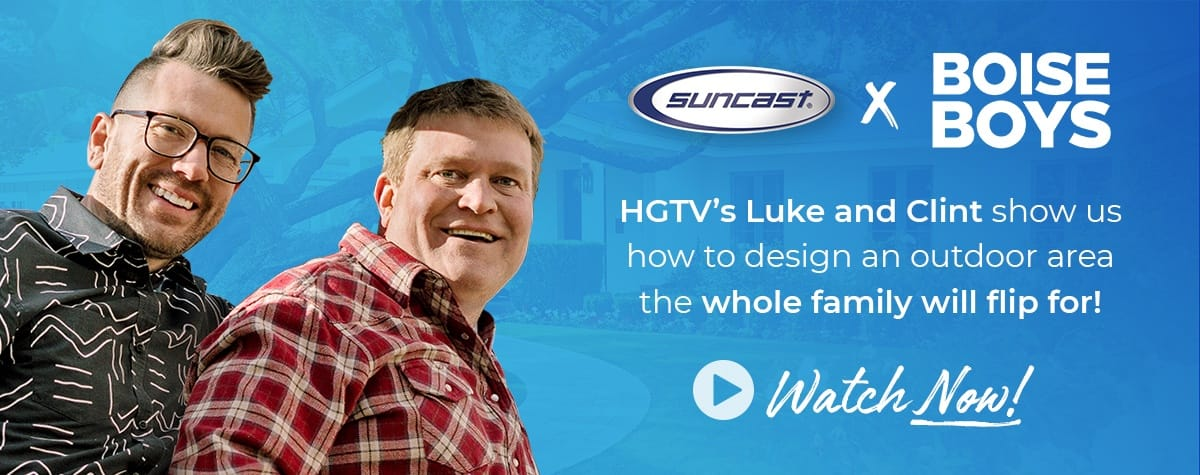 How to Design a Comfy and Convenient Outdoor Space with HGTV's Boise Boys.