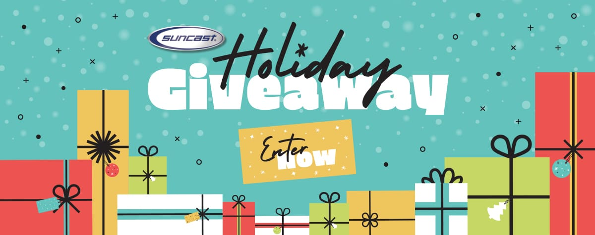 Enter the Suncast 2020 Holiday Giveaway.