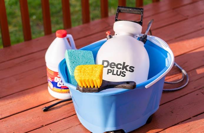 Decks Plus Deep Clean