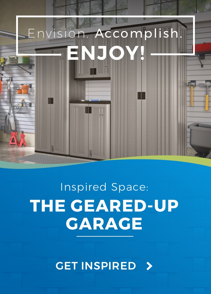 Inspired Space: Geared Up Garage