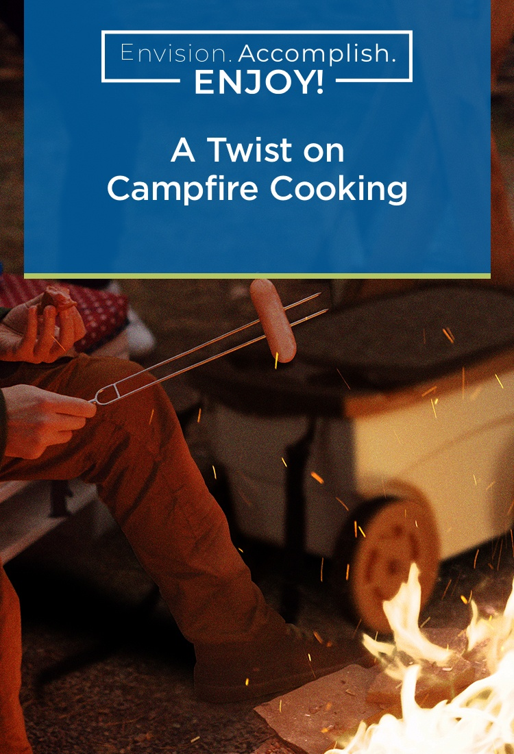 A Twist on Campfire Cooking