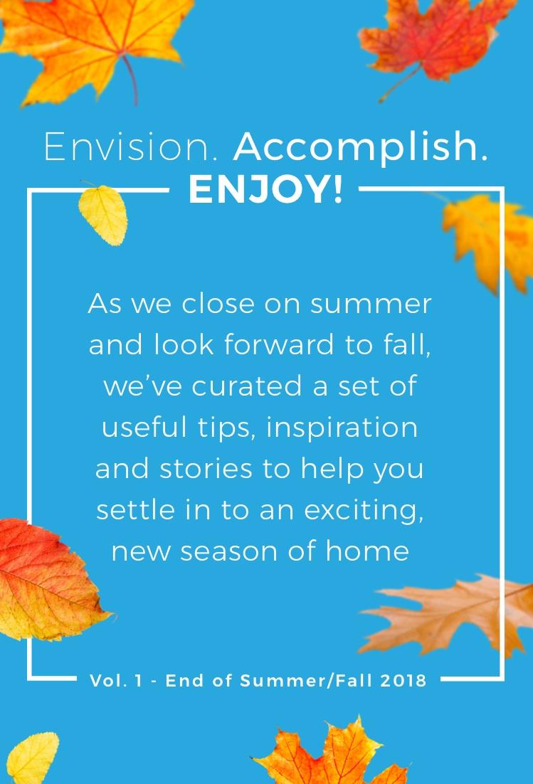Envision. Accomplish. Enjoy! Vol. 1