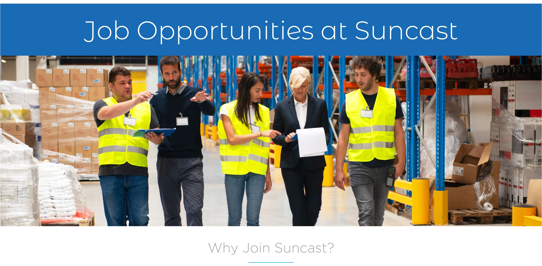 Job Opportunities at Suncast