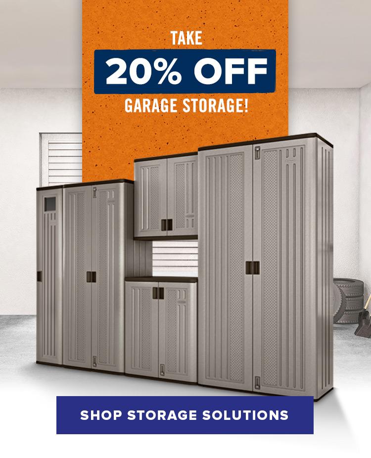 Suncast Garage Storage