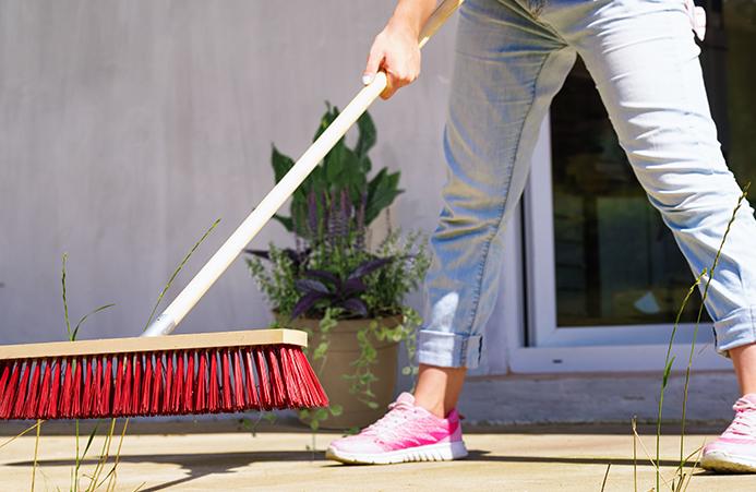 Outdoor Sweep Deep Clean
